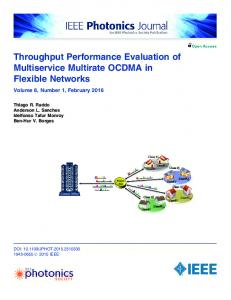 Throughput Performance Evaluation of Multiservice ... - IEEE Xplore