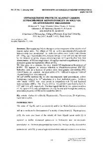 Thymoquinone protects against carbon ... - Wiley Online Library