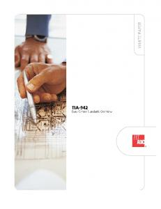 TIA-942 Data Center Standards Overview - 102264AE