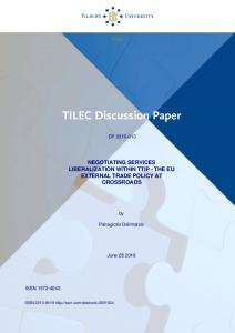 TILEC Discussion Paper - SSRN papers