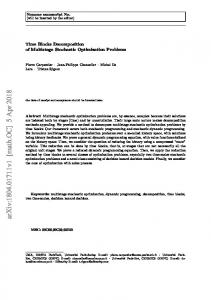 Time Blocks Decomposition of Multistage Stochastic Optimization ...