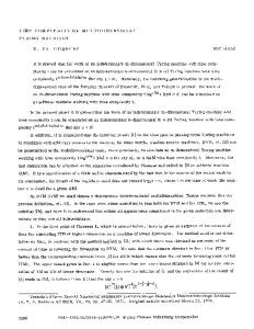 Time complexity of multidimensional Turing machines - Laboratory of ...