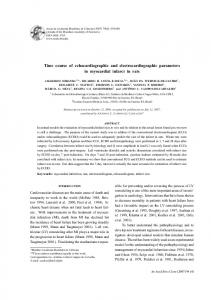 Time course of echocardiographic and ... - Semantic Scholar