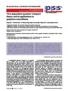Timedependent quantum transport theory and its applications to