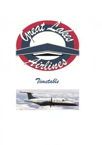 Timetable - Great Lakes Airlines