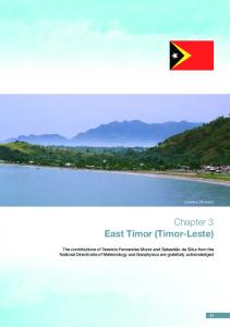Timor-Leste - Pacific Climate Change Science