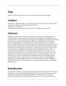 Title Authors Abstract Introduction - arXiv