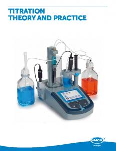 titration theory and practice - Hach