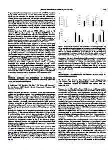 (TLRs), NLRP3 inflammasome and the intracellular ...