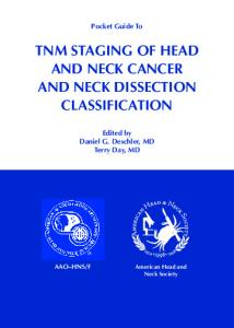 tnm staging of head and neck cancer and neck dissection ...