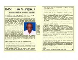 TNPSC – How to prepare…?