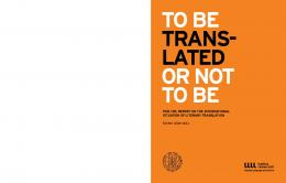 To Be Translated Or Not To Be - PEN International