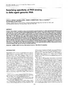 to delta agent genomic RNA - NCBI