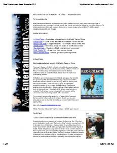 to download a pdf version of this newsletter. - Scottsdale CAN