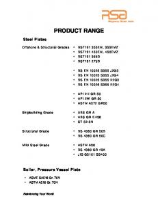 to download our product catalogue. - Regency Steel Asia