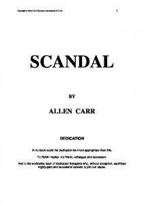 "to download the latest allen carr book ""scandal"""