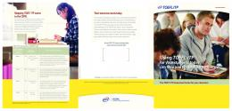 To have TOEFL ITP in your classroom today - ETS Global