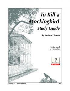 To Kill a Mockingbird - Rainbow Resource Center