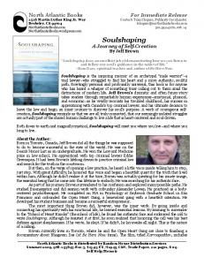 to read North Atlantic Books press release - Soulshaping