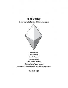 to read the first place BioZone entry.