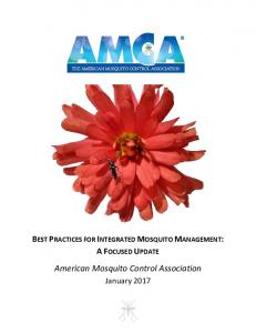 to view AMCA's Best Practices for Integrated Mosquito Management ...