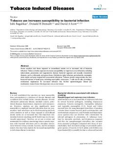 Tobacco Induced Diseases - BioMedSearch