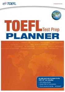 TOEFL Test Prep Planner - ETS Global