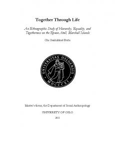 Together Through Life - UiO - DUO