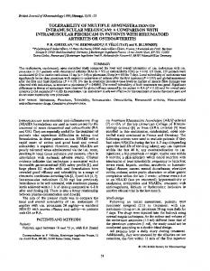 tolerabiijty of multiple administration of intramuscular meloxicam