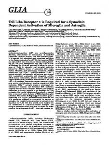 Tolllike receptor 4 is required for synuclein ... - BioMedSearch