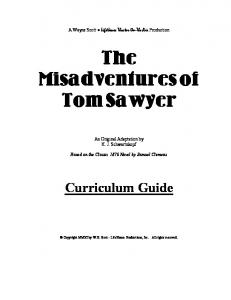 Tom Sawyer Curriculem Guide 12.20.11 - LifeHouse Theater On ...