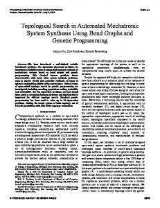 Topological Search in Automated Mechatronic ... - Semantic Scholar