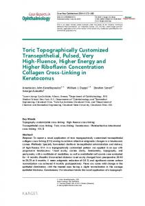 Toric Topographically Customized Transepithelial ... - BioMedSearch