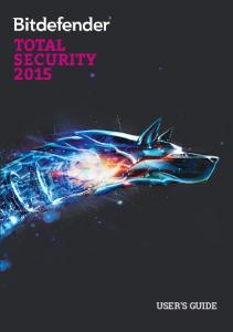 Total Security 2015 - User Guide