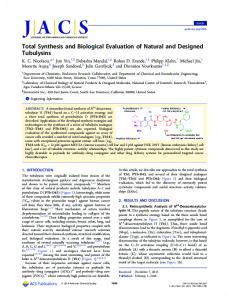 Total Synthesis and Biological Evaluation of ... - ACS Publications