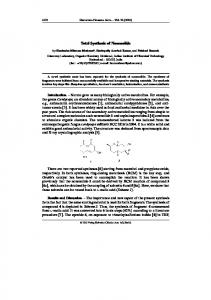 Total Synthesis of Nonenolide - Wiley Online Library