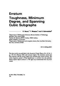 Toughness, minimum degree, and spanning cubic subgraphs