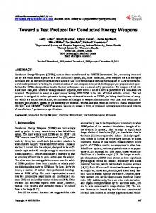 Toward a Test Protocol for Conducted Energy ... - Semantic Scholar