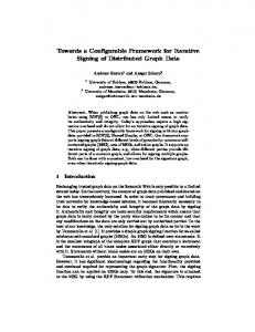 Towards a Configurable Framework for Iterative Signing of Distributed ...