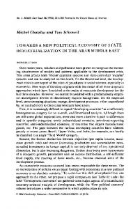 Towards a New Political Economy of State