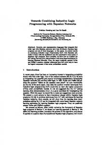 Towards Combining Inductive Logic Programming with ... - Lirias