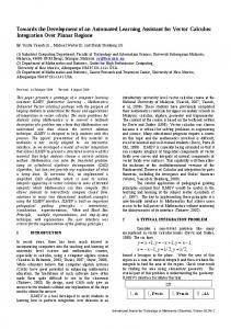 Towards the Development of an Automated ... - Semantic Scholar