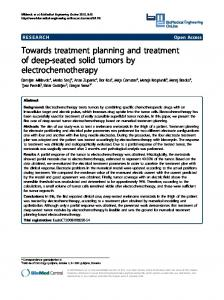 Towards treatment planning and treatment of deep-seated ... - CiteSeerX