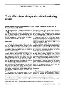 Toxic effects from nitrogen dioxide in ice-skating arenas - NCBI
