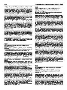 Toxicities of Radiation Therapy for the Definitive Treatment of Early ...