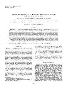 Toxicity of ifosfamide and its metabolite ... - Springer Link