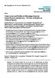 Toxin Levels and Profiles in Microalgae from the North ... - CiteSeerX