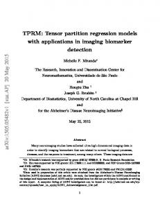 TPRM: Tensor partition regression models with