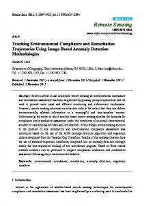 Tracking Environmental Compliance and Remediation ... - MDPI