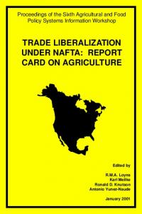 Trade Liberalization Under NAFTA - AgEcon Search